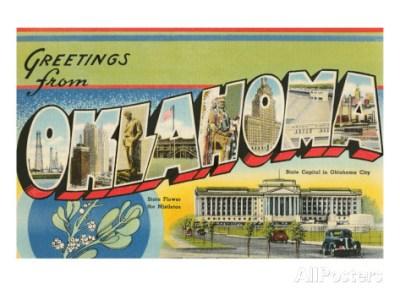 Doug Chambers - Oklahoma Postcard Vintage