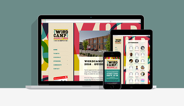We used the identity in a custom site design that looks great on all screens.