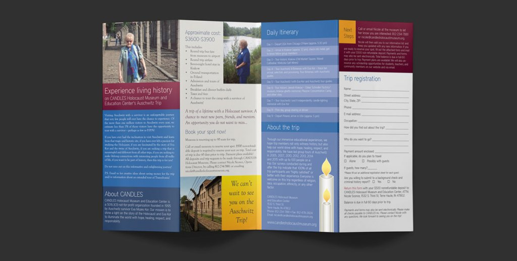 Inside of brochure.