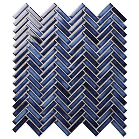 strip dark blue bcz619a herringbone
