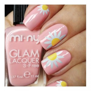 nail art margherita copia