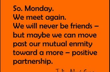 Monday Quotes Image from www.bmabh.com-So. Monday. We meet again