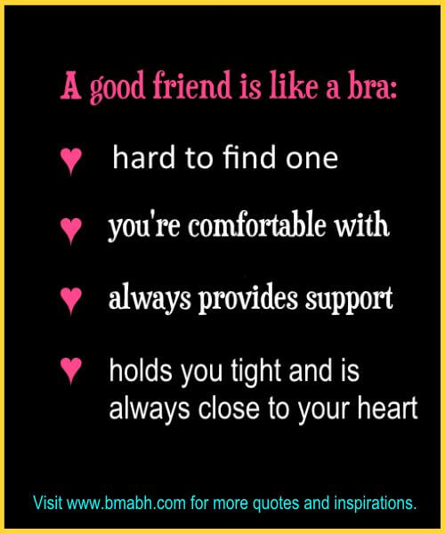 Funny Friendship Quotes And Sayings On Www.bmabh.com # Good Friend