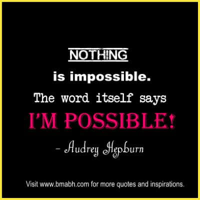 Inspirational Audrey Hepburn Quotes at www.bmabh.com