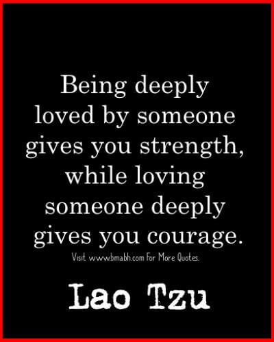 Lao Tzu Quotes About Love And Courage Image