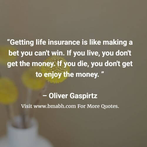 Get Life Insurance Quote Inspiration Life Insurance Quotes And Sayings  Bmabh