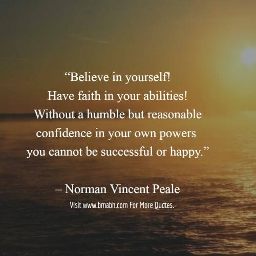 Power Of Positive Thinking Quotes