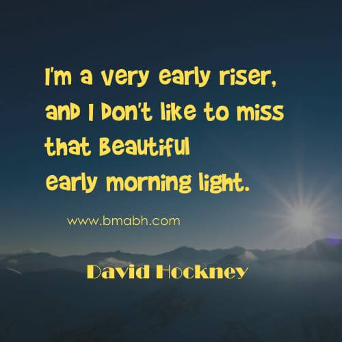 Quotes About Getting Up Early