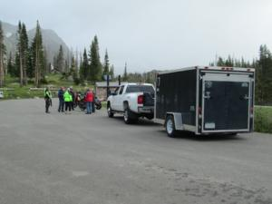 trail crew Snowy Range