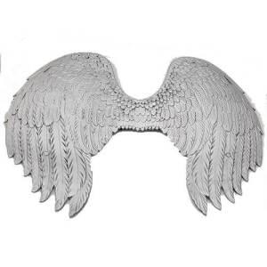 כנפיים מלאך כסף PU