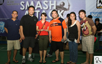 Platinum Cup 3rd placer Unionbank receives their trophy from BMAP President Mike Villa-Real.