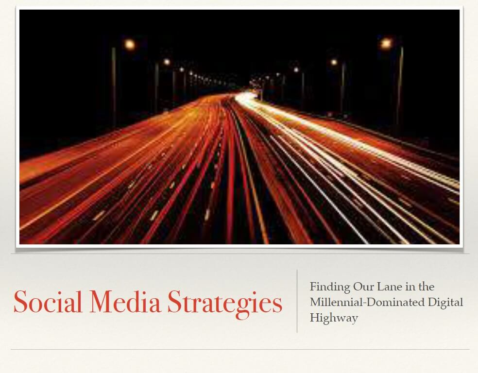 Social Media Strategies cover page