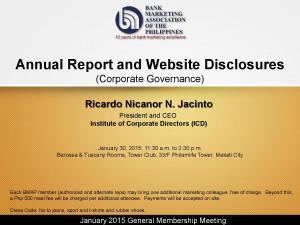 2015 January General Membership Meeting