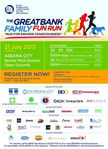 Great Bank Family Fun Run 2013