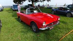 Colin McCormick, 1st Place 1967 Sunbeam Alpine