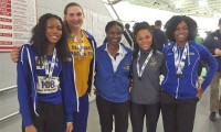 BME undergrad wins triple jump title