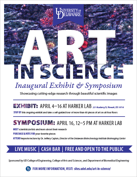 Art in Science Exhibit