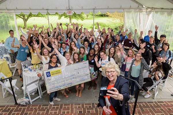 Biomedical Engineering wins Dean's Cup