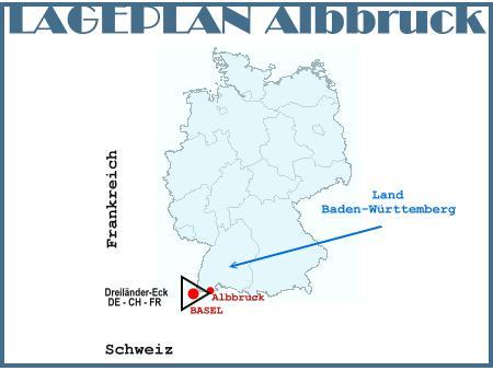 Lageplan Albbruck