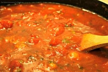 vegetarian spaghetti sause