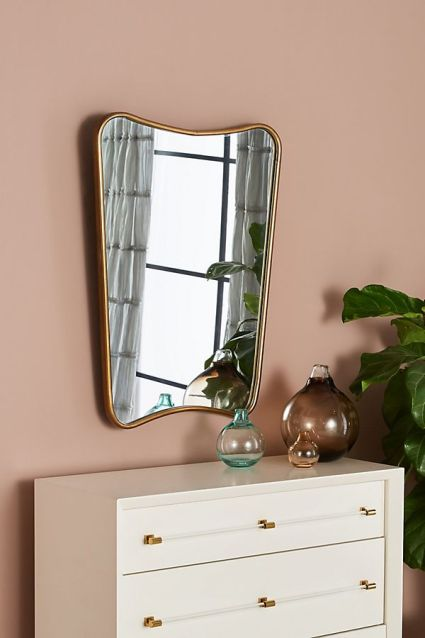 Specchio forma particolare