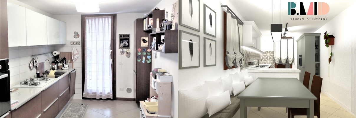 Restyling in stile country modern