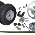 1 Live Go Kart Axle Kit Complete 41 Chain 566100 Bmi Karts And Parts