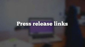 Press release links