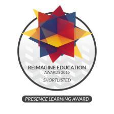 Reimagine Education awards logo