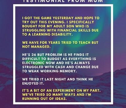 Testimonial special needs