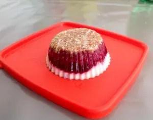 Bouchées aux fruits rouges réalisées par Jérôme T.