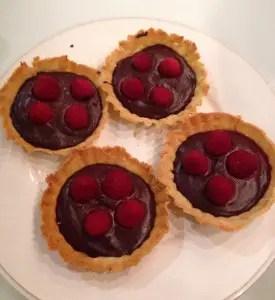 Les tartelettes au chocolat de Julie P.
