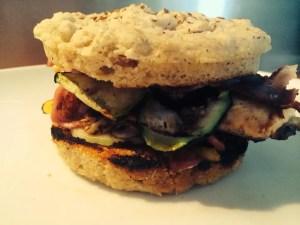 Le burger Paléo de Philippe X.