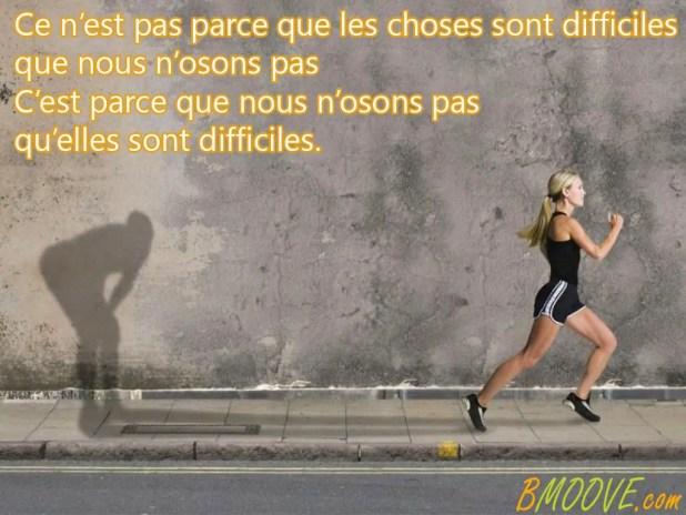 SPORT MOTIVATION Choses difficiles