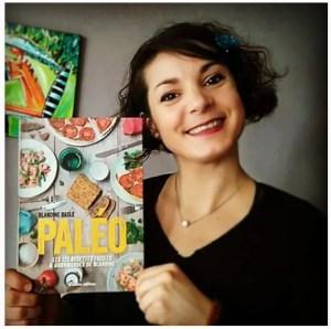"""Blandine et son livre """"PALÉO """" aux éditions RUSTICA"""