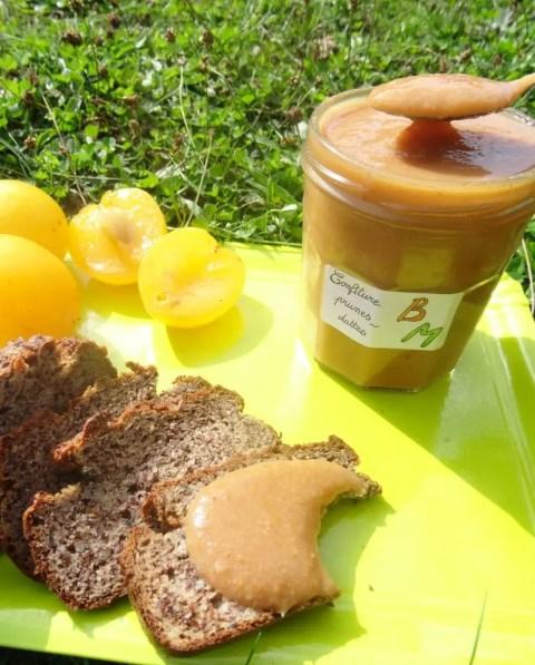 Confiture Paléo prunes dattes 1