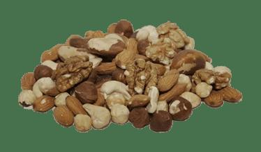 les noix sont une source de magnésium