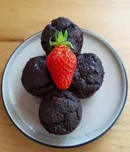 Les minis muffins au chocolat de Peggy V.