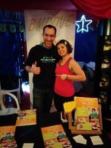 Blandine & Wilfried à leur stand au salon du CrossFit