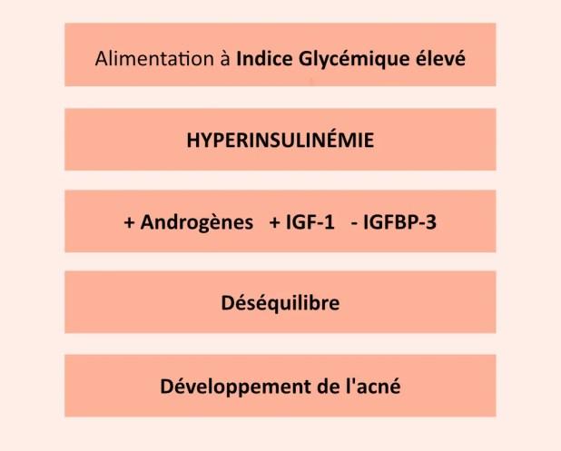 influence de l'IG sur l'acné