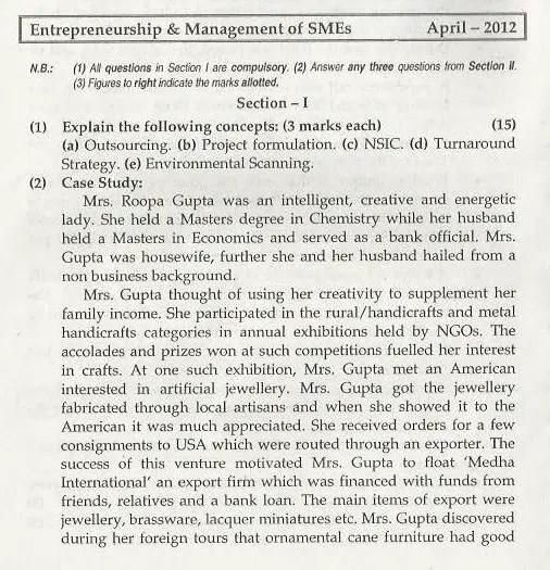 Entrepreneurship management mumbai university april 2012 question entrepreneurship management mumbai university april 2012 question paper bms malvernweather Choice Image
