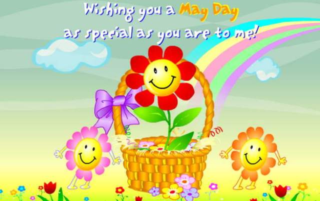 Happy may day greetings sms messages wishes quotes cards text related stories what is may day m4hsunfo