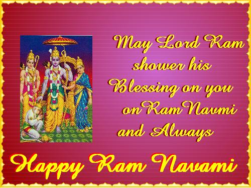 Top 25 Awesome Religious Happy Ram Navami Sms Messages Shayari