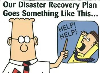 Resultado de imagem para disaster recovery meme