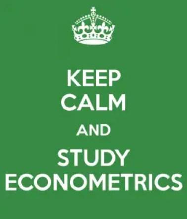 keep-calm-and-study-econometrics