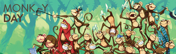 Happy Monkey Day 2014 HD Images, Wallpapers For Pinterest, Instagram