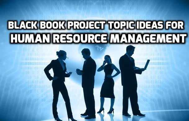project topics for management students