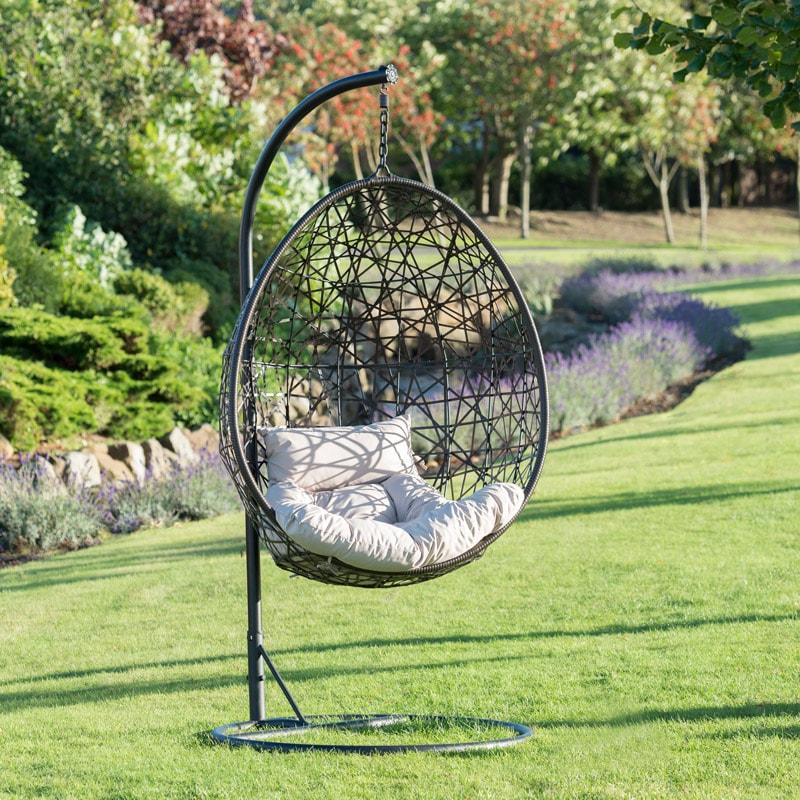 Venice Hanging Egg Chair Garden Furniture