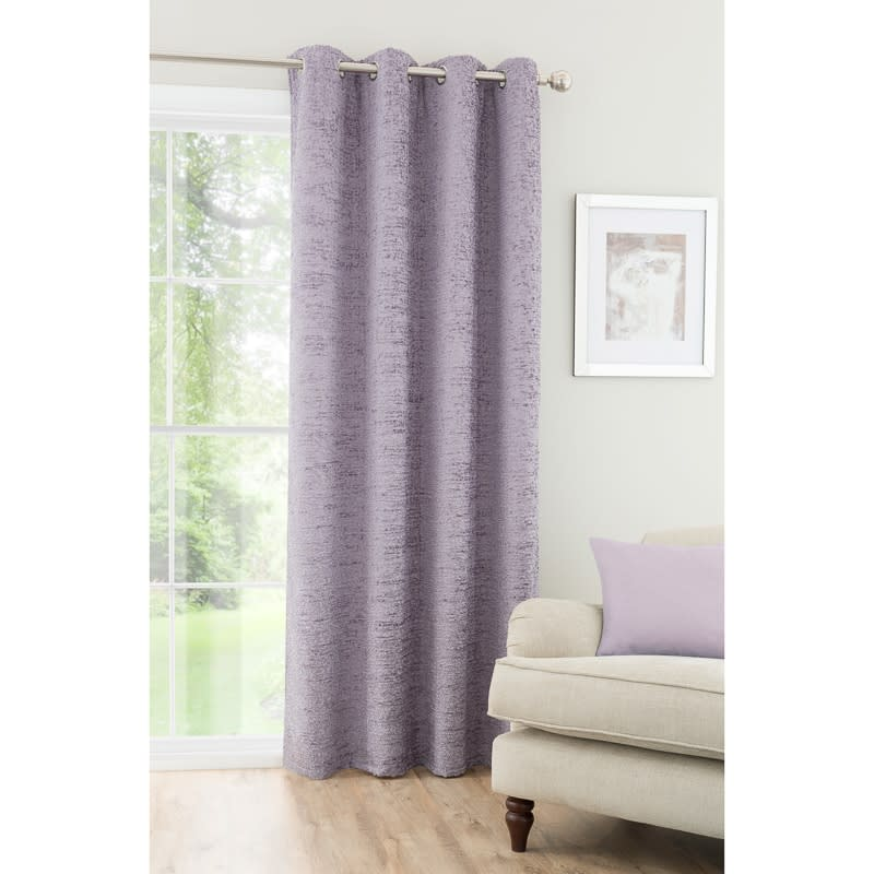 Textured Chenille Unlined Curtain Panel 54 X 86 Home BampM