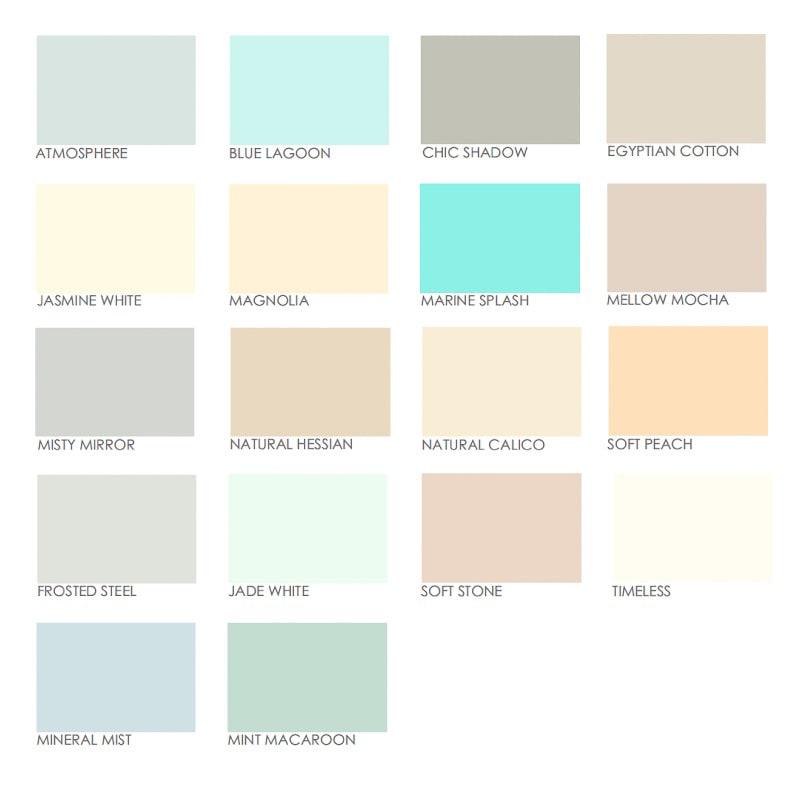 Dulux Bathroom Paints: Paint Colours Dulux Interior